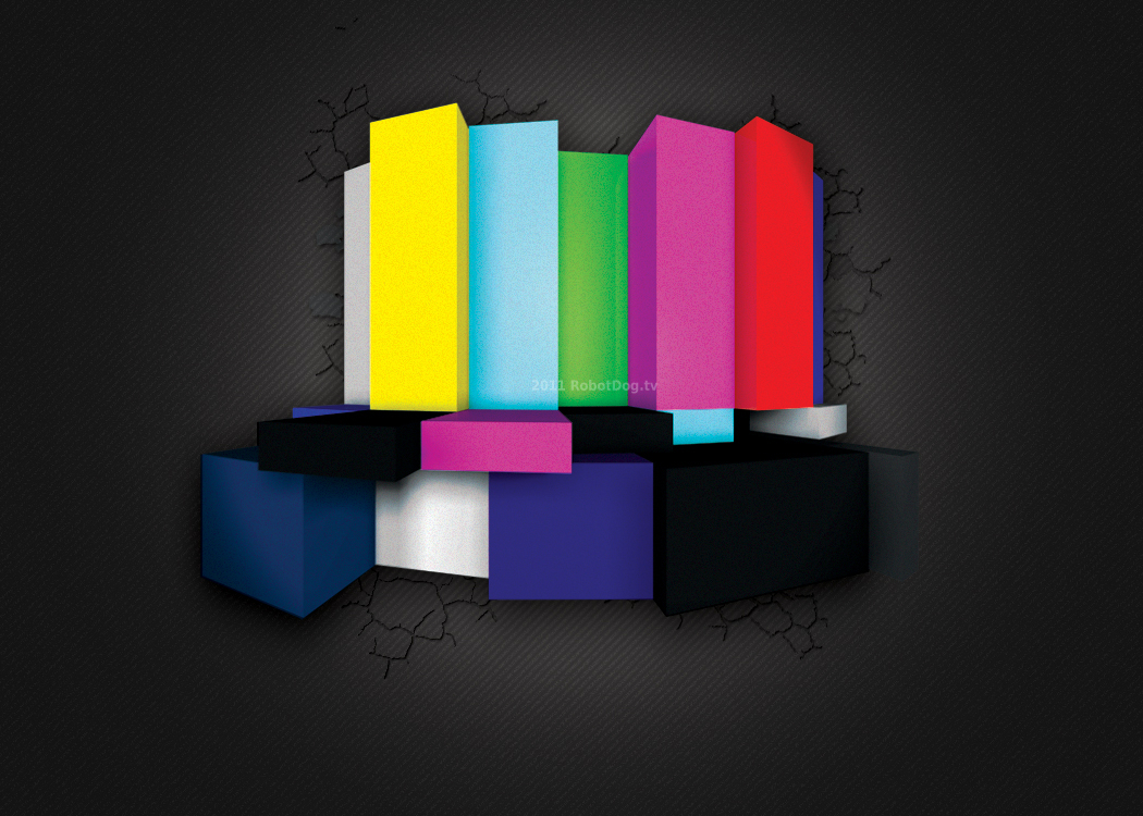 Color Bar 3D Artwork