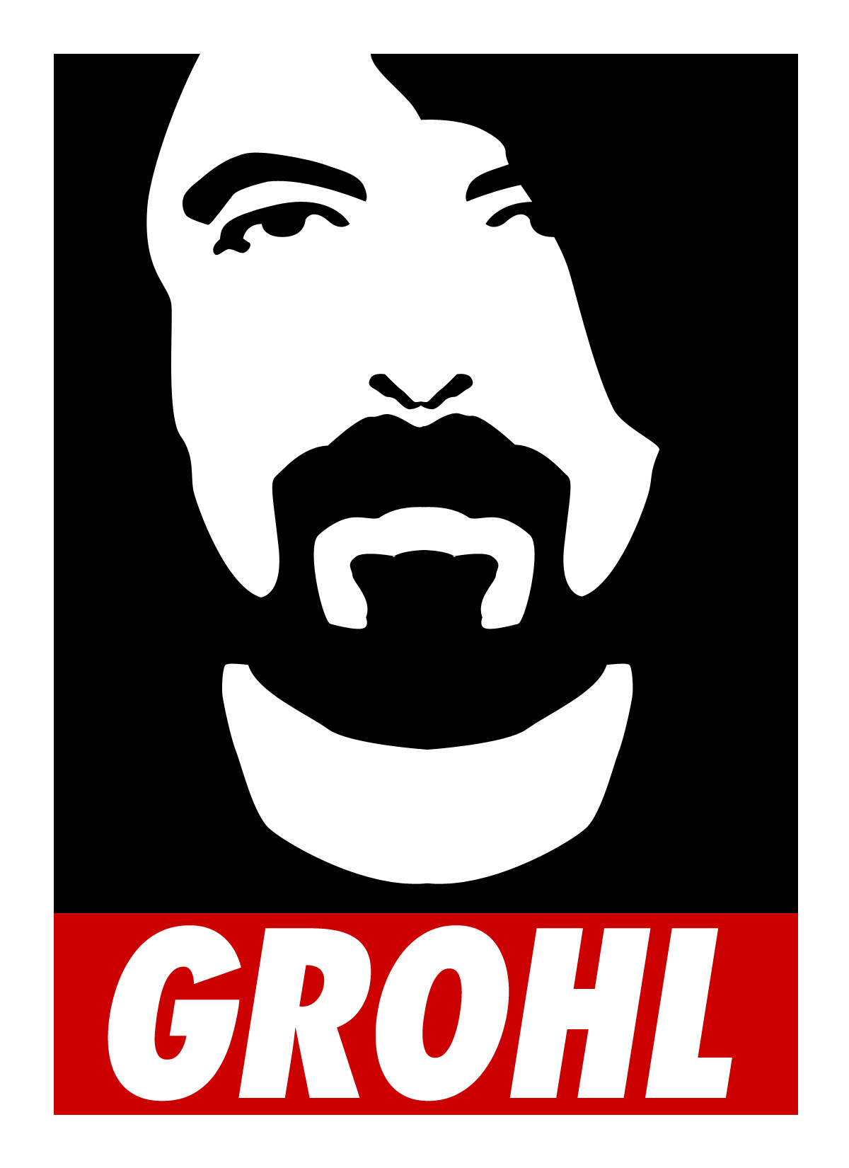 Grohl Sticker