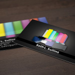 TV Business Card